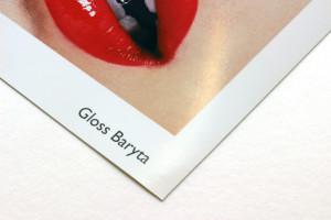 Gloss baryta