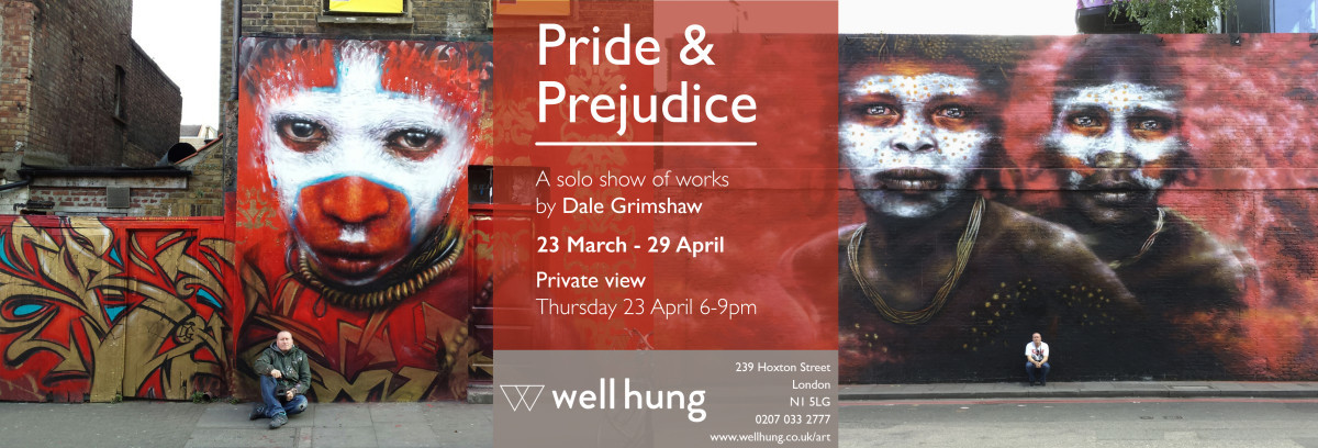 Dale Grimshaw Exhibition Well Hung