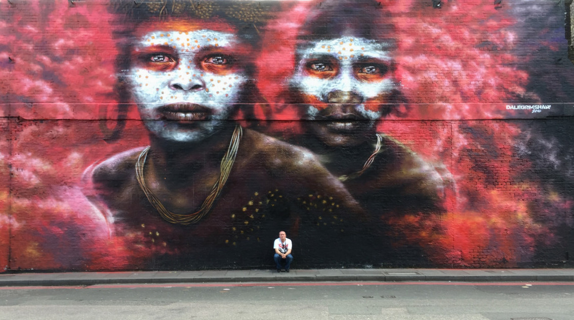 Dale Grimshaw Well Hung Village underground Shoreditch