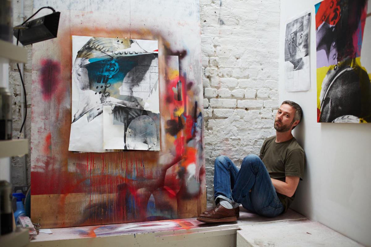 John Atherton in His Studio ©Jenny Lewis