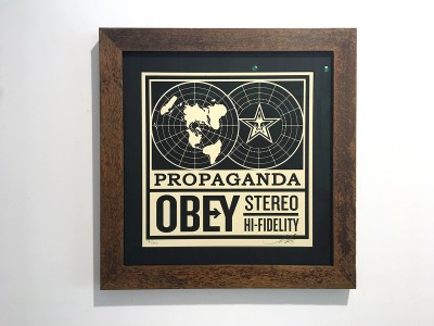 Obey Reclaimed timber frame