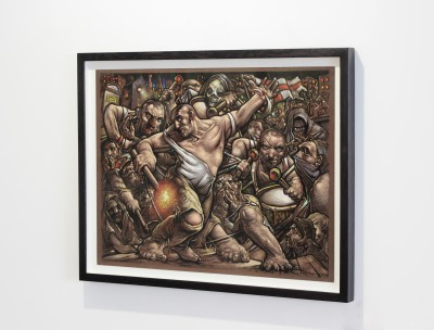 Peter Howson frame