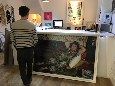 Richard Billingham frame